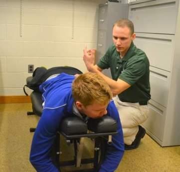 ipfw chiropractor Dustin Sherman